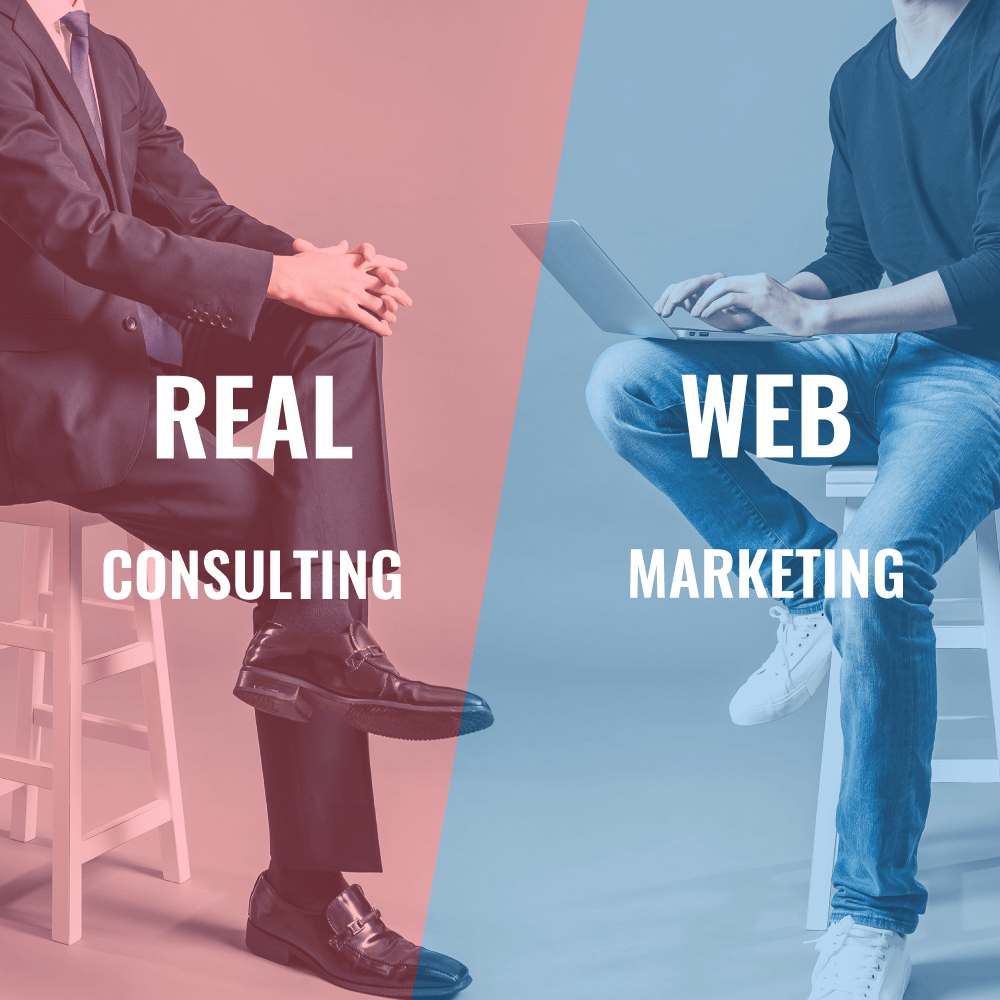 REAL CONSULTING × WEB MARKETING
